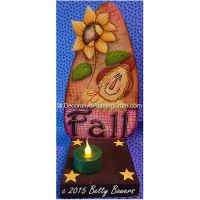 Fall Candle Holder - Betty Bowers - PDF DOWNLOAD