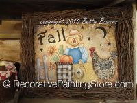 Fall Scarecrow - Betty Bowers - PDF DOWNLOAD