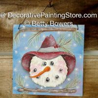 Woodland Snowman - Betty Bowers - PDF DOWNLOAD