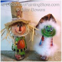 Two Candy Jar Toppers - Betty Bowers - PDF DOWNLOAD
