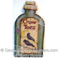 Crow Toes - Betty Bowers - PDF DOWNLOAD