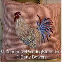 Rooster Pillow - Betty Bowers - PDF DOWNLOAD