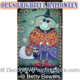 Olas Frightful Halloween - Betty Bowers - PDF DOWNLOAD