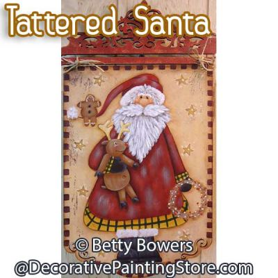 Tattered Santa - Betty Bowers - PDF DOWNLOAD