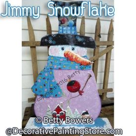 Jimmy Snowflake - Betty Bowers - PDF DOWNLOAD