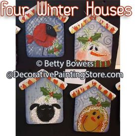 Four Winter Houses - Betty Bowers - PDF DOWNLOAD
