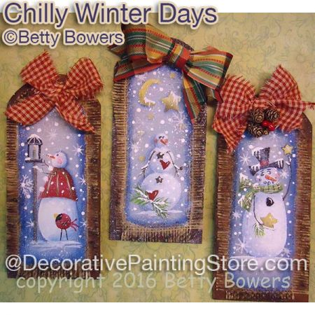 Chilly Winter Days - Betty Bowers - PDF DOWNLOAD