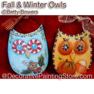 Fall and Winter Whoots - Betty Bowers - PDF DOWNLOAD