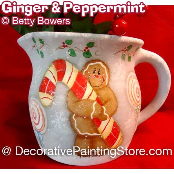 Ginger and Peppermint - Betty Bowers - PDF DOWNLOAD