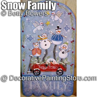 Snow Family - Betty Bowers - PDF DOWNLOAD