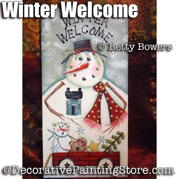 Winter Welcome - Betty Bowers - PDF DOWNLOAD