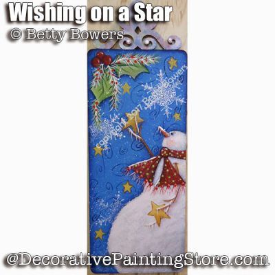 Wishing on a Star e-Pattern - Betty Bowers - PDF DOWNLOAD