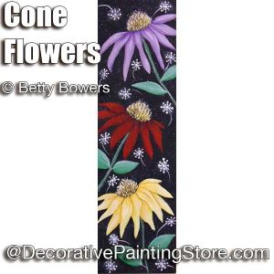 Cone Flowers - Betty Bowers - PDF DOWNLOAD