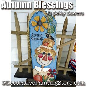 Autumn Blessings ePattern - Betty Bowers - PDF DOWNLOAD