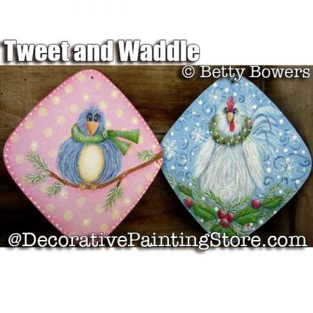 Tweet and Waddle - Betty Bowers - PDF DOWNLOAD