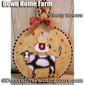 Down Home Farm e-Pattern - Betty Bowers - PDF DOWNLOAD