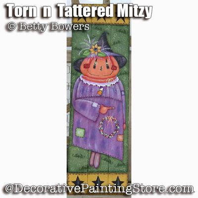 Torn n Tattered Mitzy e-Pattern - Betty Bowers - PDF DOWNLOAD
