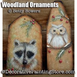 Woodland Ornaments e-Pattern - Betty Bowers - PDF DOWNLOAD