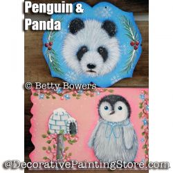 Penguin and Panda e-Pattern - Betty Bowers - PDF DOWNLOAD