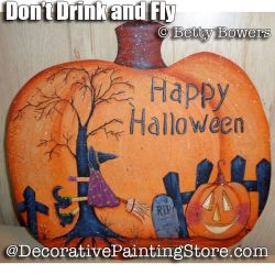 Dont Drink and Fly e-Pattern - Betty Bowers - PDF DOWNLOAD
