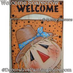 Welcome Scarecrow DOWNLOAD - Betty Bowers