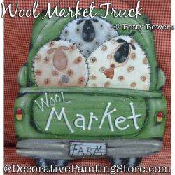 Wool Market Truck DOWNLOAD - Betty Bowers