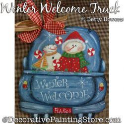Winter Welcome Truck DOWNLOAD - Betty Bowers