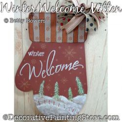 Winter Welcome Mitten DOWNLOAD - Betty Bowers
