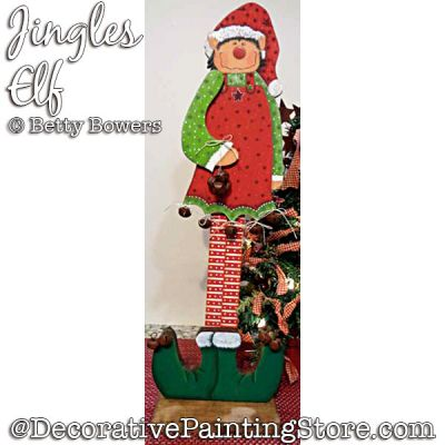 Jingles Elf DOWNLOAD - Betty Bowers