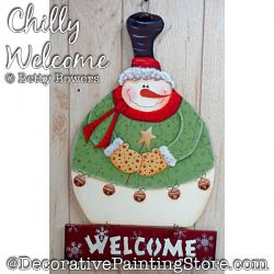 Chilly Welcome (Snowman) DOWNLOAD - Betty Bowers