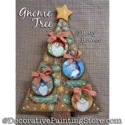 Gnome Tree Painting Pattern PDF DOWNLOAD - Betty Bowers