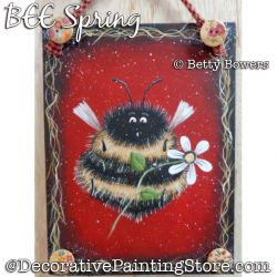 BEE Spring Painting Pattern PDF DOWNLOAD - Betty Bowers