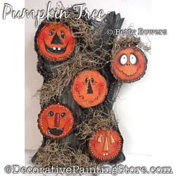 Pumpkin Tree Painting Pattern PDF DOWNLOAD - Betty Bowers