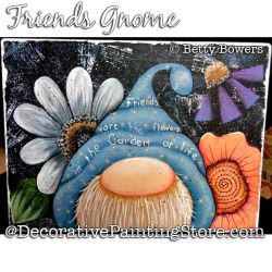 Friends Gnome Painting Pattern PDF DOWNLOAD - Betty Bowers