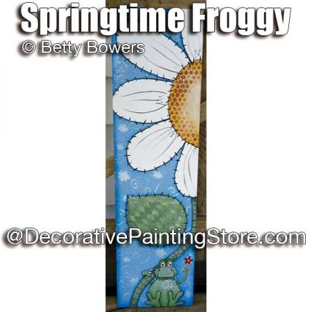 Springtime Froggy - Betty Bowers - PDF DOWNLOAD