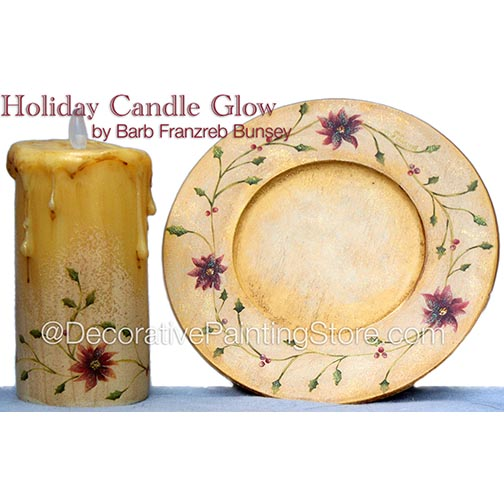 Holiday Candle Pattern BY DOWNLOAD