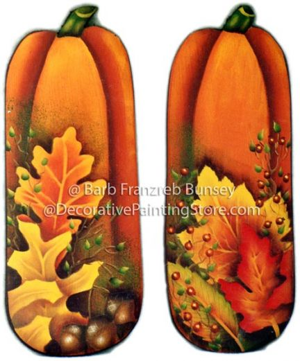 Fall Pumpkins & Leaves ePattern BY DOWNLOAD