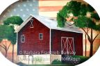 Maroon Barn ePattern BY DOWNLOAD