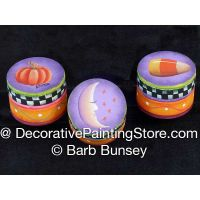 Halloween Trio ePattern -Barb Bunsey - BY DOWNLOAD