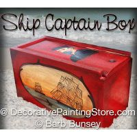 Ship Captain ePattern -Barb Bunsey - BY DOWNLOAD