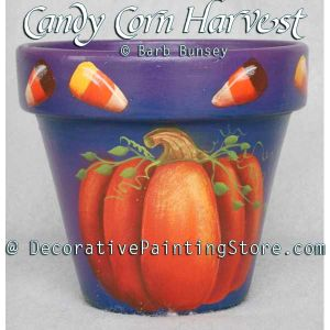 Candy Corn Harvest ePattern - Barbara Franzreb-Bunsey - PDF DOWNLOAD