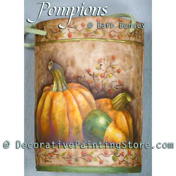 Pompions ePattern - Barbara Bunsey - PDF DOWNLOAD