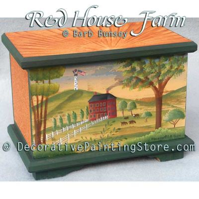 Red House Farm ePattern - Barbara Bunsey - PDF DOWNLOAD