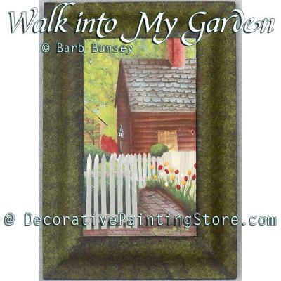 Walk Into My Garden ePattern - Barbara Bunsey - PDF DOWNLOAD