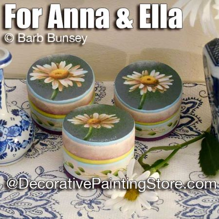 For Anna and Ella ePattern - Barbara Bunsey - PDF DOWNLOAD