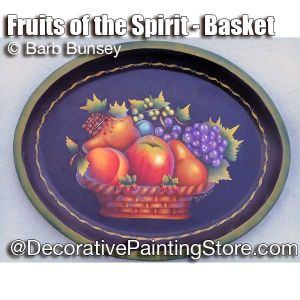 Fruits of the Spirit Basket ePattern - Barbara Bunsey - PDF DOWNLOAD