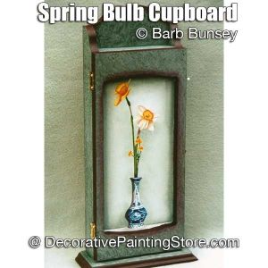 Spring Bulb Cupboard ePattern - Barbara Bunsey - PDF DOWNLOAD