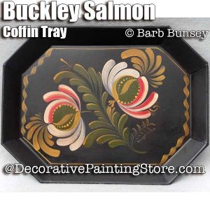 Buckley Salmon Coffin Tray ePattern - Barbara Bunsey - PDF DOWNLOAD