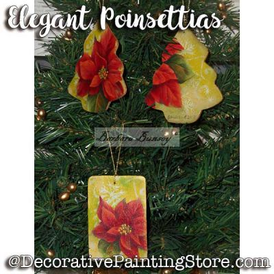 Elegant Poinsettias ePattern - Barbara Bunsey - PDF DOWNLOAD