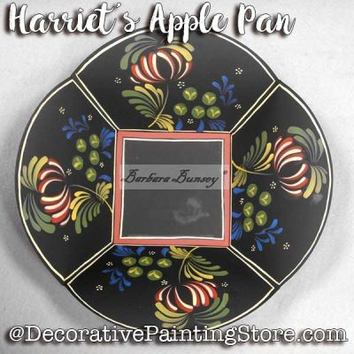 Harriets Apple Pan ePattern - Barbara Bunsey - PDF DOWNLOAD